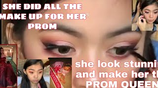 TRENDING PROM QUEEN MAKE UP HACKS|DO IT YOUR SELF MAKE UP
