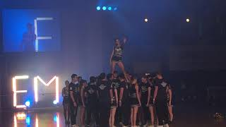 EBS Cheerleading @WHU Euromasters 2019