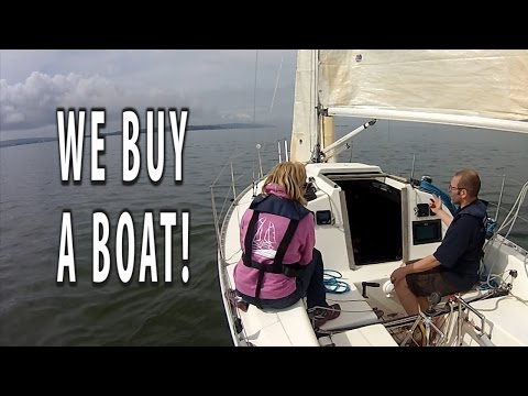WE BUY A SAILING BOAT! The Hanse 291 Seahorse that we saw last week