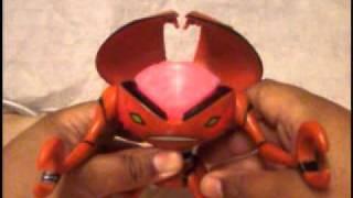 """Ben 10 Alien Force Brainstorm 6"""" DNA Toy Figure Review"""