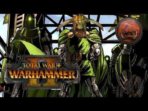 THE GREEN DOOOOM   Greenskins vs Dark Elves: Total War Warhammer 2
