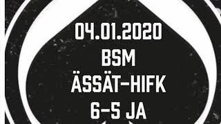 Juniori-Ässät - B1-joukkue - 04.01.2020 BSM Ässät-HIFK Maalikooste