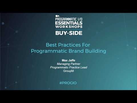 PROGRAMMATIC I/O New York - October 15-16, 2019