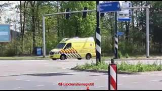 06-125 met spoed door Apeldoorn naar onbekende melding