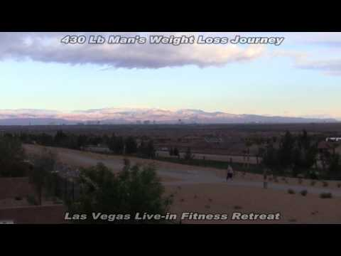 Morbidly Obese 430Lb Man; Live-in Fitness Camp, Nevada-Day 19