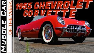 1955 Chevrolet Corvette Muscle Car Of The Week Video Episode 312 V8TV