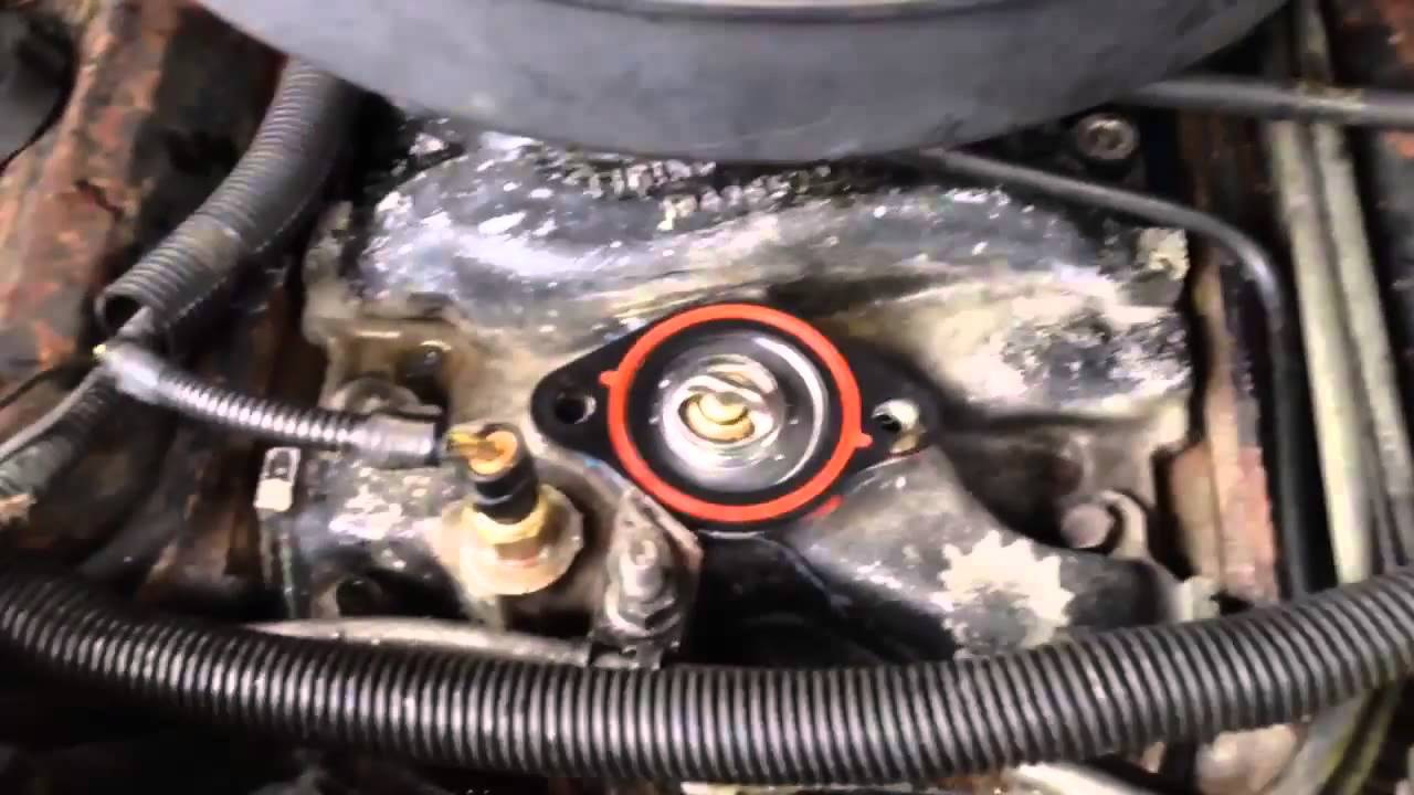 Watch as well Replace The C3 Starter Motor And Solenoid T984 moreover Watch additionally Replace Front Crankshaft Oil Seal Gm 3 1l V6 318113 besides Dodge Intrepid Alternator Location. on chevy 4 3 thermostat location
