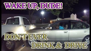 Drunk Driver Thinks He Can Sleep It Off - Has Rude Awakening