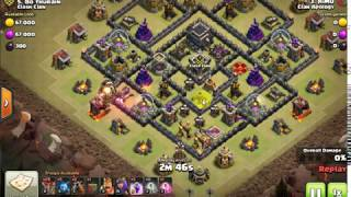 3 star from town hall 9 max by lavaloon | clash of clans |
