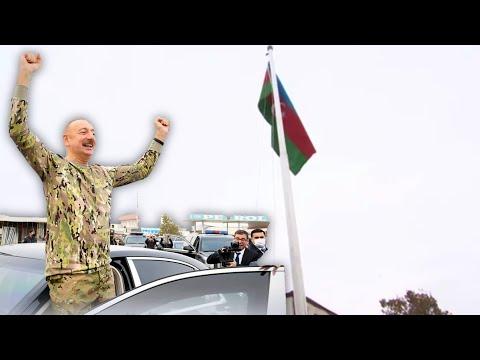 Ilham Aliyev Visits Conflict Zone in Nargono-Karabakh