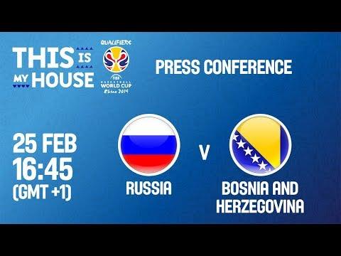 LIVE🔴 - Russia v Bosnia & Herzegovina - PC - FIBA Basketball World Cup 2019 - European Qualifiers