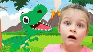 Dinosaurs Song for children by KybiBybi Colors