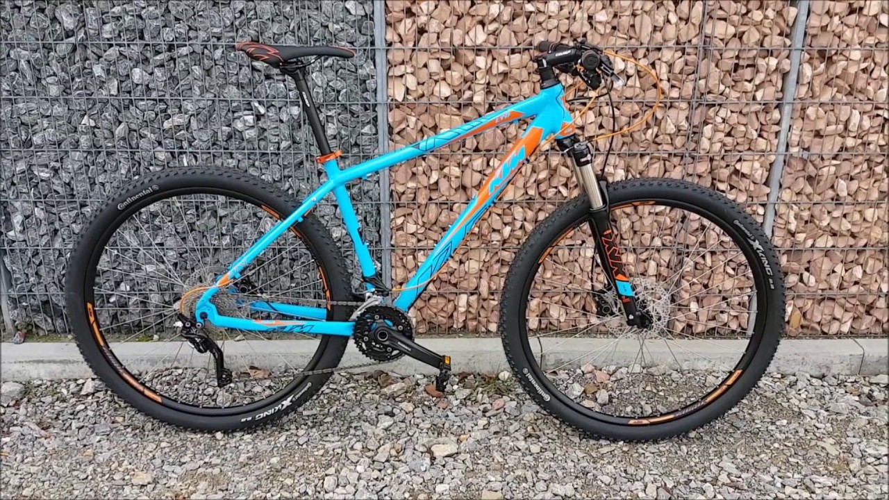 KTM Ultra 29 Limited 2018 Mountainbike Marseille-blue - YouTube