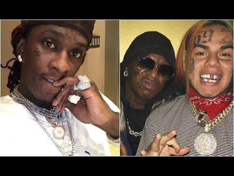 Young Thug Reacts To 6ix9ine Signing To Birdman Cash Money Records
