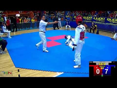 2046 FERAS GHANEM TEAM SAUDI ARABIA KSA vs BINAY KARKI OBERNDORF AUT 14 4