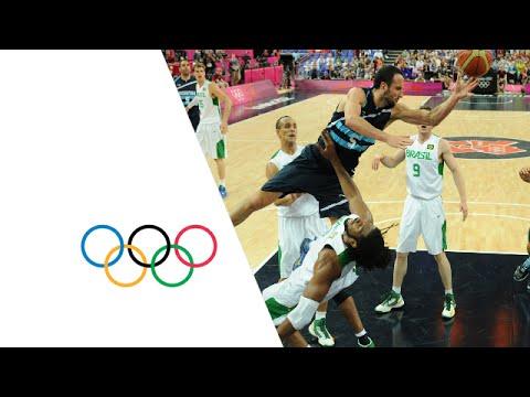 Basketball Men's QuarterFinals Brazil v Argentina  Highlights  London 2012 Olympics