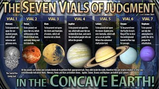 The 7 Vials of the Judgment of God in the Earth - The Planets - Lord Steven Christ's Concave Ea