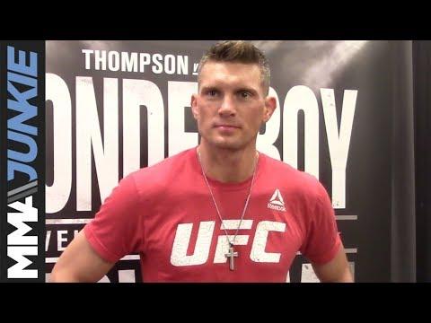UFC Nashville- Stephen Thompson media day interview