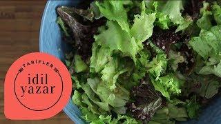 Diyetteyken Yaptığım Salata - İdil Yazar - Yemek Tariflerİ
