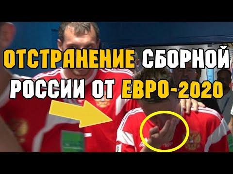 Допинг скандал. Отстранение сборной России по футболу от Евро 2020