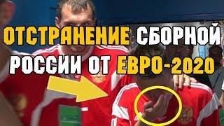 Допинг скандал Отстранение сборной России по футболу от Евро 2020