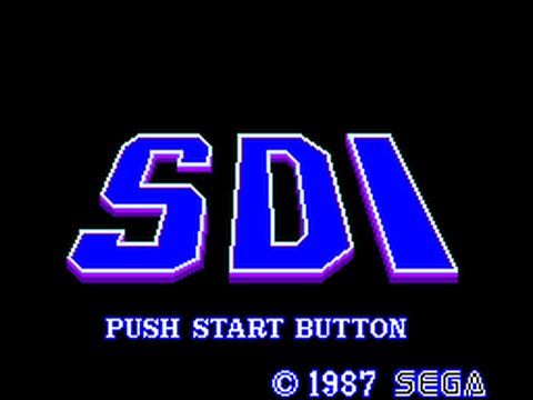 Master System Longplay [089] SDI: Strategic Defense Initiative
