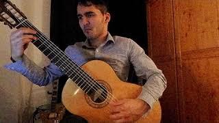 Leo Brouwer- Estudios Sencillos no. 8 , Performed by Daniel Ramjattan