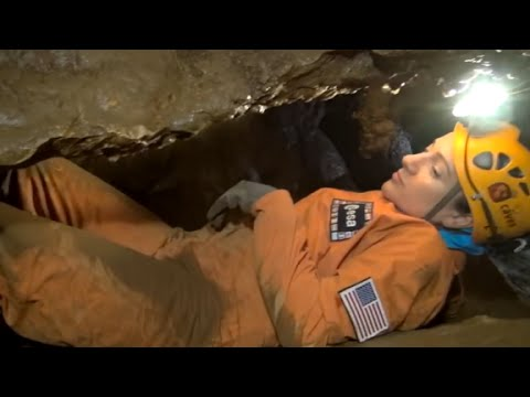 Astronauts prep for space by living in caves
