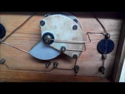 Antigua radio galena año 1925 - Vintage crystal radio from 1