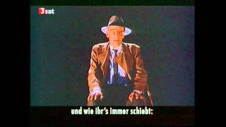 What Keeps Mankind Alive - William S. Burroughs