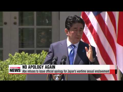 Abe offers no apologies for Japan′s wartime sexual slavery   아베, 위안부 질문에 ″전