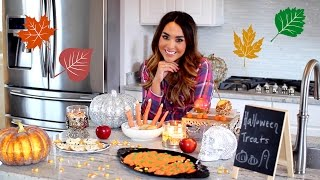 Halloween Inspired Treats | Festive Fall Recipes!