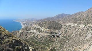 Spain: AL-5107 near Carboneras (Costa de Almería)