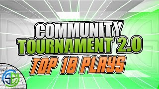 TOP 10 PLAYS of the Community Tournament! | CoD Bo4 Competitive Community Highlights