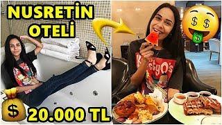 İLK DEFA NUSRETİN OTELİNE GİTTİM !! (GECELİĞİ 20.000 TL)