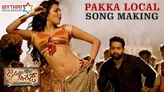 Pakka Local Video Song Making