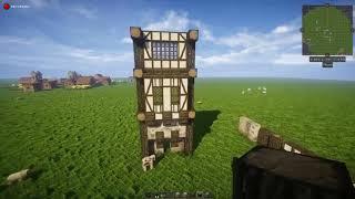 minecraft tall medieval fantasy tutorial slim