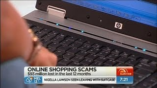 Sunrise - Beware of online shopping scams