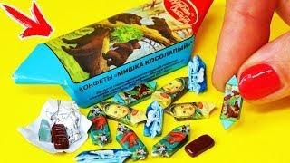 🌟ШОКОЛАДНЫЕ КОНФЕТЫ для КУКОЛ 💖ОЧЕНЬ МАЛЕНЬКИЕ !!! ЕДА для кукол FIMO СВОИМИ РУКАМИ 😍Анна Оськина