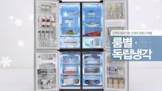 위니아만도 프라우드 냉장고 속 지서비오빠♡