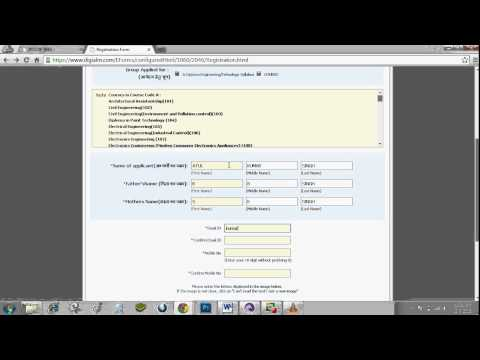 How to fill UP Polytechnic 2015 application form Video Tutorial