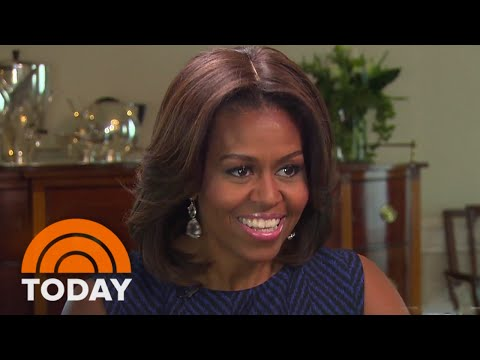 Michelle Obama's Modern Redesign Of The White House | TODAY