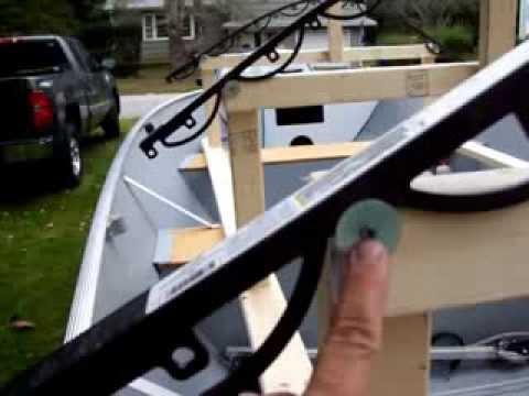 Boat Cover Bows Poles Homemade Doovi