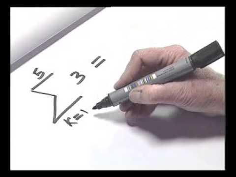 Maths Tutor Sigma notation