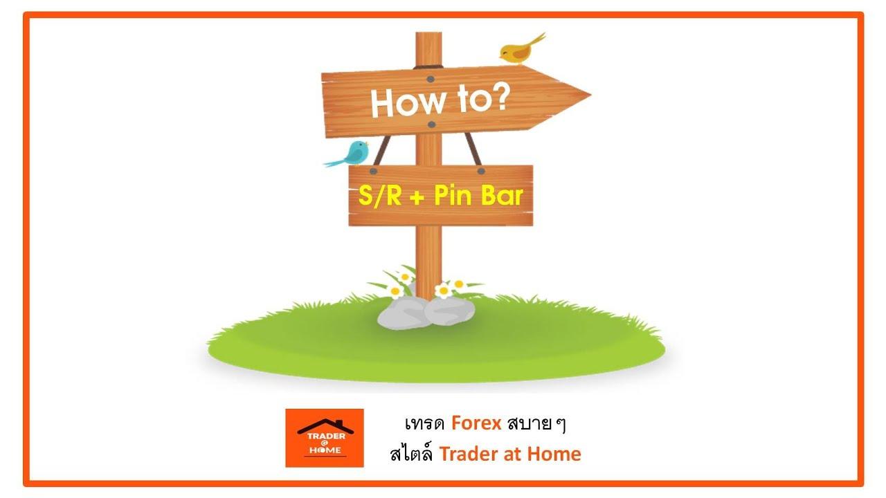Forex สอน เทรด : 003. เทคนิค แนวรับ แนวต้าน + Pin Bar