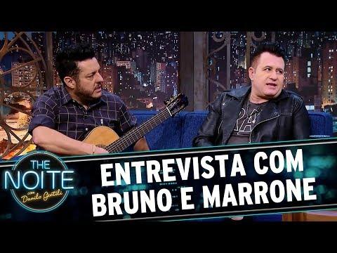 Entrevista com Bruno e Marrone   The Noite (02/10/17)