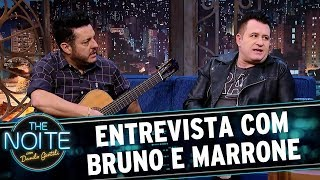 Entrevista com Bruno e Marrone | The Noite (02/10/17)