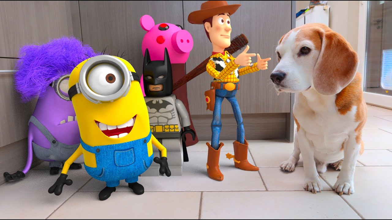 NEW Animation In Real Life ft. Minions , LEGO , Peppa Pig and many more