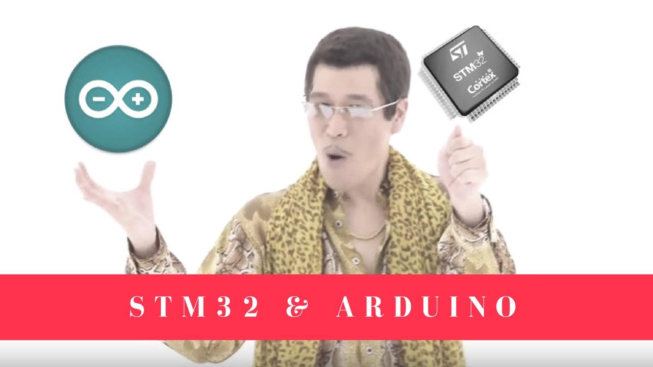 STM32 và Arduino - hmong video