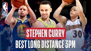 Stephen Curry's BEST Career Long-Distance Threes!